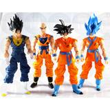 Muñeco Dragon Ball Super Articulados Goku Vegetto Krili 17cm