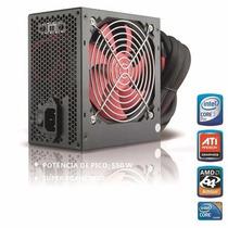 Fonte Atx 550w Real Pc Gamer Ff-550r Feasso