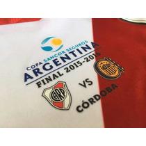 Parche Match Day River Vs Rosario Central 2016 Copa Argentin