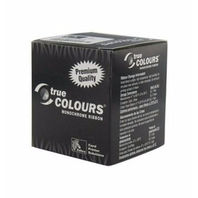 Cinta Zebra Color Negra Para Carnet De Pvc 800015-301