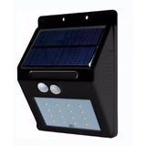 Arbotante Solar Para Exterior Laswip65cwm Techno Shine