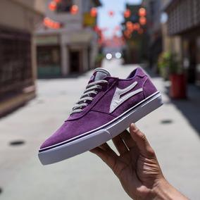 Lakai Manchester Purple Suede