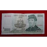 Billete De 1000 Pesos Chileno, Año 2006 (#78)