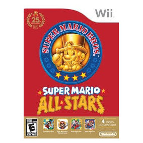 Super Mario All Stars Wii Nuevo Sellado Original