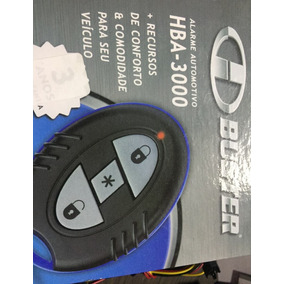 Alarme Automotivo H-buster Hba 3000 Com Sensor De Presença !