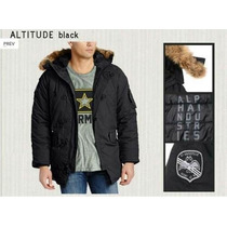Campera Alpha Industries Parka Altitude Nueva Sin Uso