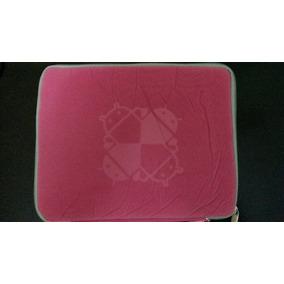Forro Para Mini Lapto O Tablet Rosada