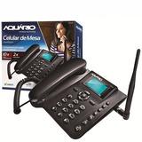 Kit 10x - Telefone Celular Rural De Mesa Ca-40 Aquário