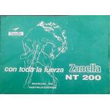 Manual Zanella Nt 200