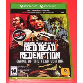 ¡nuevo! Red Dead Redemption: Juego Of The Edición Año - Uno