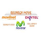 Recarga De Saldo Movistar,digitel,movilnet