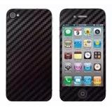 Skin Protector Pantalla Iphone 4 4s 5 5s Fibra Carbon Vinilo