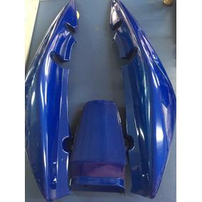 Rabeta De Cg 150 Sport Nova Somente Azul/prata