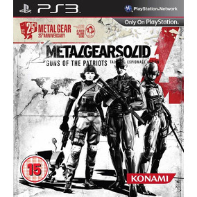 Metal Gear Solid 4 Español - Mza Games Ps3