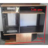 Mueble Modular Centro De Entretenimiento Madera De Tv Sala