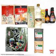 Kit Sushi / Hot Roll 8 - Sem Hashi, Niguiri, Molheira