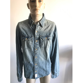 Camisa Jeans Abercrombie & Fitch