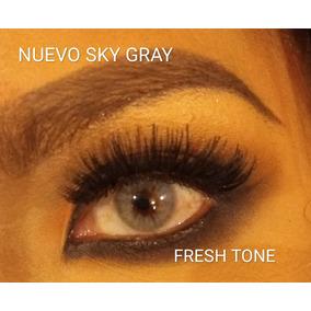 Pupilentes Fresh Tone Sky Gray Nueva Opacidad