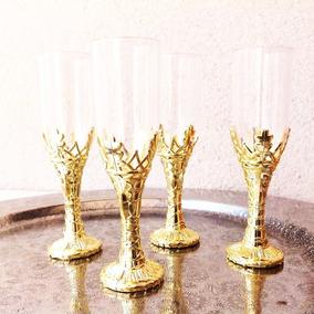 60 X Mini Taças Douradas Lembrancinha Casamento Debutante