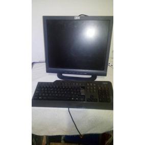 Computadora Completa Ibm Monitor Ibm + Teclado + Cpu