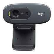 Webcam Logitech C270 Hd - Câmera 720p 30fps