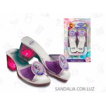 Sandalias Con Luces Mini Play Frozen