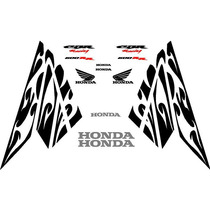 Kit De Calcomanias Para Honda Cbr 600rr Edicion Halloween