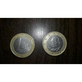 Moeda De 1 Euro Da Espanha