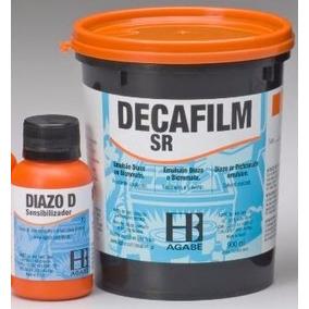 Emulsão Decafilm Sr Solvente + Sensibilizante Diazo