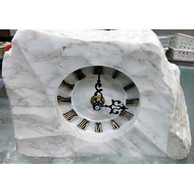 Reloj De Marmol Con Numeros Romanos Pieza Para Exigentes!!!!
