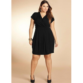 vestidos plus size curtos