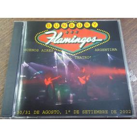 Bunbury - Flamingos En El Teatro Cd 2002 Heroes Del Silencio