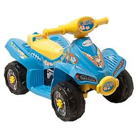 Moto Para Niños Azul A Bateria 4 Ruedas / Tienda Kidscool