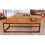 Muebles En Hierro Caño Madera Artesanales A Medida. Premium