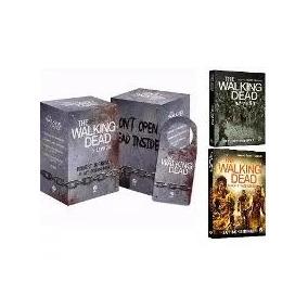 Livro Box The Walking Dead +invasão + Busca E Destruição (7)