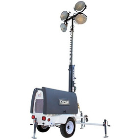 Torre De Iluminación Motor Perkins 9hp 6000 Watts Ecomaqmx