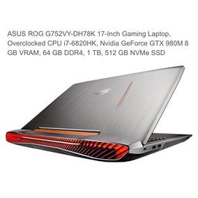 Notebook Asus Rog G752vy-dh78k Gaming Laptop