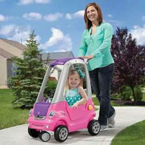 Step 2 Carrito Montable Easy Turn Coupe Rosa