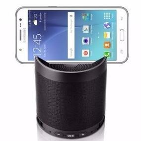 Caixinha Som Portátil Suporte Celular Bluetooth Mp3 Sd Usb