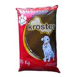 Economico!!! Alimento P/perros Kroster X 10 Bolsas (210 Kg)