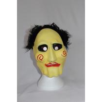 Máscara E.v.a. Jogos Mortais Halloween Jigsaw Festa Fantasia