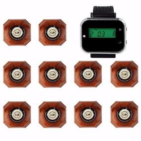 Kit 2 Relógio Chama Garçon + 10 Campainhas Menor Preço