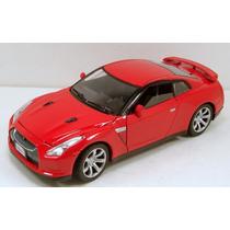 Motormax 1/24 2008 Nissan Skyline Gt-r R35 Rojo