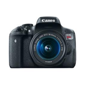 Camara Canon T6i Kit 18-55 Memoria De Regalo Xtratecnologia