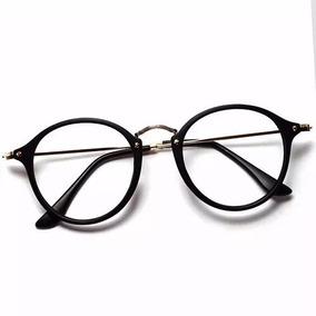 198ddfe1eeefc Armação Redonda Masculina Para Oculos De Grau - Óculos no Mercado ...