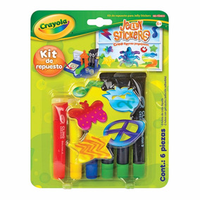 Refill Pack Jelly Stickers Crayola