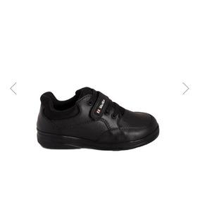 Zapato Escolar Blasito Color Negro 179332 Pit-18