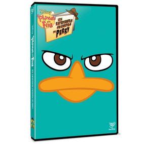 Dvd - Phineas Y Ferb Los Expedientes Secretos De Perry
