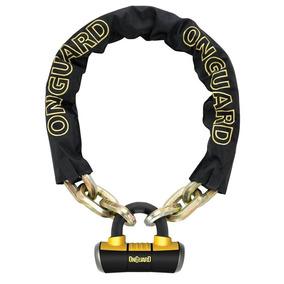 Cadena Candado Onguard Mastiff 8019 110 X 1 Cm Titanio Fas
