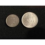 Monedas Francia - Lote X 2 - L&m7006
